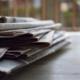 Printmedium Zeitung